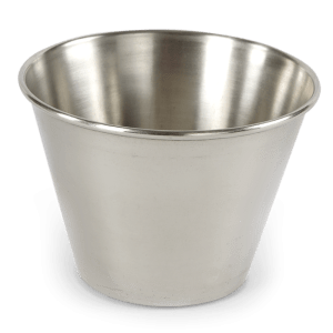 RAMEKIN 6 OZ ACERO INOXIDABLE 8 CMS