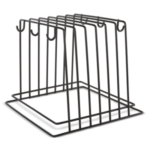 RACK PORTA TABLAS COLOR NEGRO